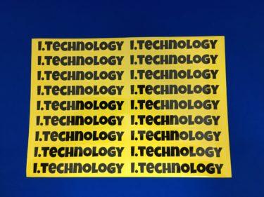 i.technology様 ステッカー製作