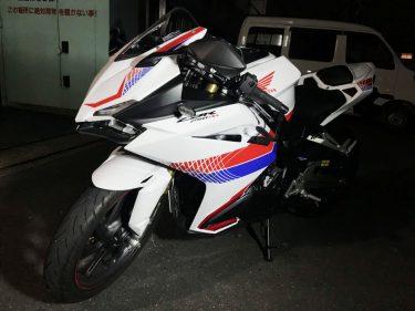 バイク用ステッカー作成